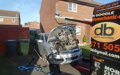 Tricky gearbox change, Sussex