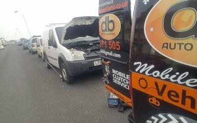 Roadside alternator replacement, Bexhill