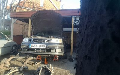 Saab 9-3 clutch replacement, East Sussex