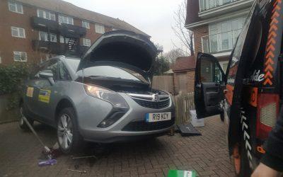 Vauxhall Zafira full service, Eastbourne