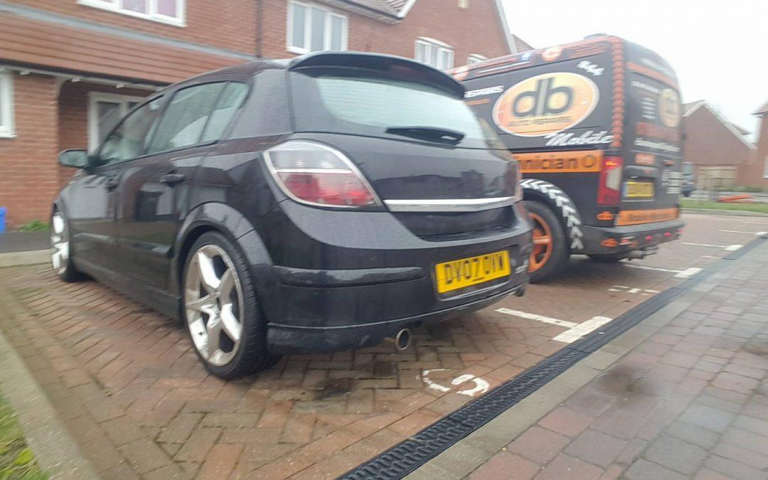 Vauxhall Astra lowering springs, East Sussex