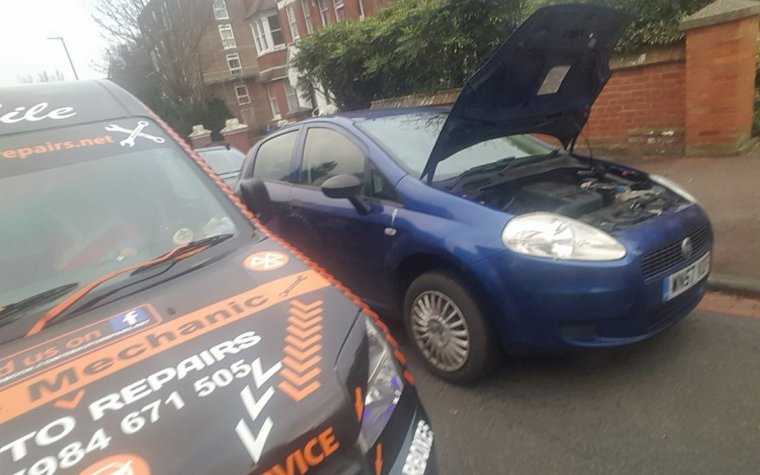Fiat gear cables replaced