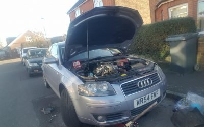 Audi A3 timing belt and water pump change