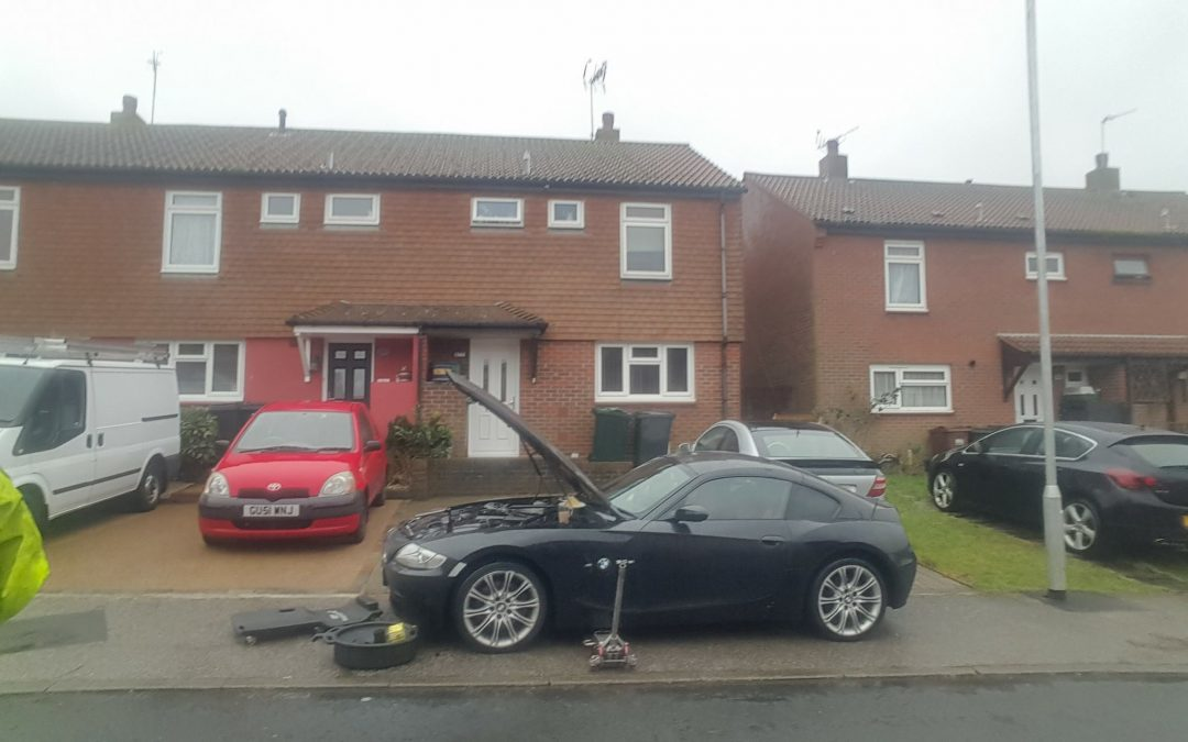 BMW major service in Eastbourne