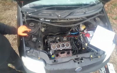 Fiat Head gasket, water pump, thermostat, timing belt and oil change